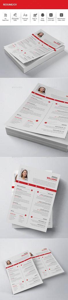 Resume Word Pinterest Resume words, Resume cv and Simple resume - letterhead sample in word