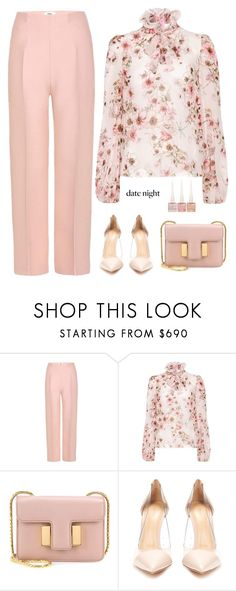 """Untitled #376"" by anaalex on Polyvore featuring Fendi, Giambattista Valli, Tom Ford, Gianvito Rossi, Christian Louboutin and summerdatenight"