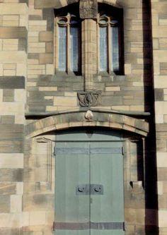 Charles Rennie Mackintosh - Queen's Cross church - Façade - 1896