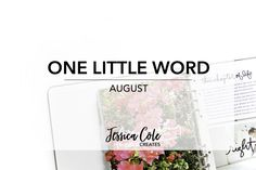 ONE LITTLE WORD :: AUGUST   I can't believe we are nine months into 2016 and I've successfully completed eight prompts from Ali Edward's One Little Word Class. Since this is my first blog post actually discussing my One Little Word I feel like I should give a bit of background. My word is Shine and I chose it because I wanted to push myself out of my comfort zone. I also got married this year so I wanted to my word to reflect how I wanted to feel leading up to and during my wedding.  Back to…