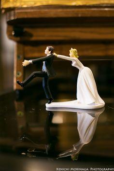 ウエディングケーキの上に乗せる人形 @ケーキトッパー - ○○しゃしんのじかん http://blog.goo.ne.jp/moriken_photo/