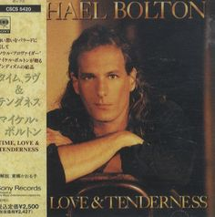 For Sale - Michael Bolton Time Love & Tenderness Japan Promo  CD album (CDLP) - See this and 250,000 other rare & vintage vinyl records, singles, LPs & CDs at http://991.com