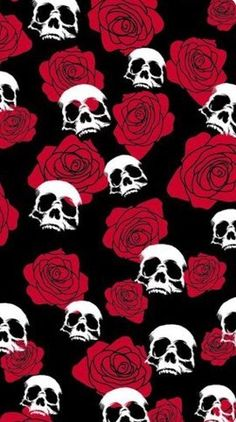 @rocknrox Dark Wallpaper, Tumblr Wallpaper, Screen Wallpaper, Wallpaper Backgrounds, Iphone Wallpaper, Wallpaper Caveira, Skeleton Art, Skulls And Roses, Halloween Wallpaper