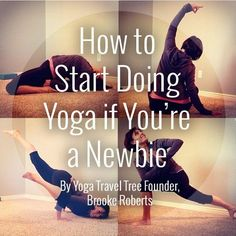 Yoga Poses for Newbies!