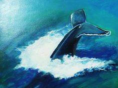 orca painting acrylic - Google Search