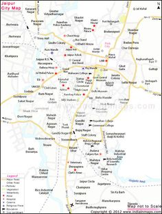 Jaipur City Map will help you to locate travel destinations in Jaipur. Jaipur tourism map, location of hotel in jaipur. Here you can get zoomable map of jaipur city which is very known tourist place.