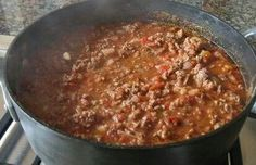 Easy home made Chilli