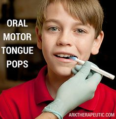 Tongue pops are my faaaavorite #oralmotor exercise. They're especially good for working on tongue movement and tongue/jaw dissociation