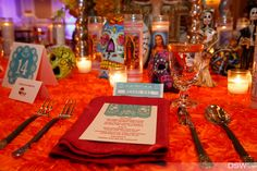Ideas to I Do - Day of the Dead Wedding Theme