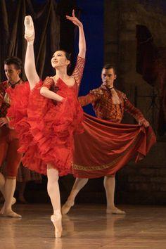 Yao Wei as Kitri in the Royal Danish Ballet's DON QUIXOTE