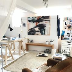 Studio space inspiration | @karinabania
