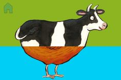 Our Animal SnApp Creations: Day two... a Cen! Find out about Animal SnApp on our website: http://nosycrow.com/apps/farm