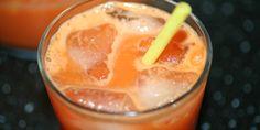 Gulerodsjuice med ingefær