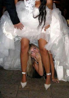 Bride gallery upskirt