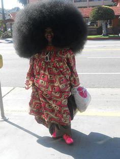 Amazing afro
