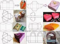 como hacer cajas de regalo - Buscar con Google