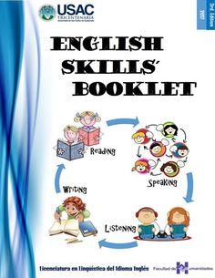 "Cover of ""English skills booklet"" English Books For Kids, English Learning Books, English Phonics, Teaching English Grammar, English Activities, English Language Learning, English Play, Play School Activities, Phonics Activities"