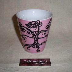 Henna mug Coffee mug mug Coffee cup Funny mug by FilomenaMehendi
