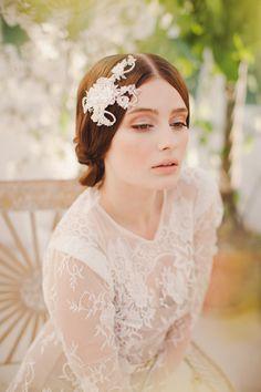 Jannie Baltzer 2014 Bridal Headpiece Collection | Eva