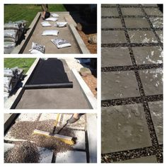 One Day Curb Appeal Ideas & Projects 2019 Our DIY Front Path Makeover on a Budget Recap ZenShmen Project Curb Appeal Flagstone Pavers River Rock Landscaping Hardscaping The post One Day Curb Appeal Ideas & Projects 2019 appeared first on Backyard Diy. Budget Patio, Diy Patio, Backyard Patio, Modern Backyard, Covered Patio Ideas On A Budget Diy, Inexpensive Patio Ideas, Backyard Ideas On A Budget, Pea Gravel Patio, Sloped Backyard