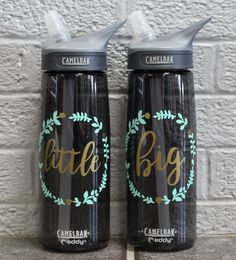 Floral Big & Little Camelbak Water Bottles by UniversityShop