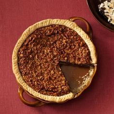 Easy Bourbon Chocolate-Pecan Pie Recipe -You can easily make this pie without the bourbon by using three tablespoons of melted butter in its place. To make it lighter, leave out the chocolate.—Sarah Varner, Santa Rita, Guam