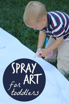 Toddler Approved!: Spray Art for Toddlers