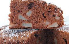 torta pere e cioccolato con farina di riso