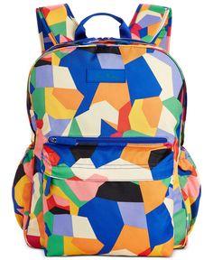 16b4c6f5b Vera Bradley Lighten Up Grande Laptop Backpack & Reviews - Handbags &  Accessories - Macy's