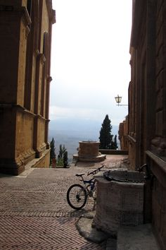 View from Pienza, province of Siena, Tuscany