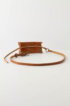 pouch belt back