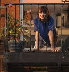 Dakota Johnson on set of How To Be Single in NY - 24 June 2015