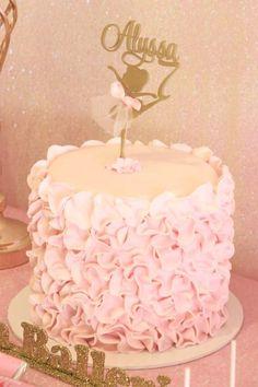 Children's Parties & Events 's Birthday / Ballerina - Photo Gallery at Catch My Party Ballet Birthday Cakes, Ballet Cakes, Frozen Birthday Cake, Ballerina Birthday Parties, Ballerina Cakes, Girls Birthday Party Themes, Ballerina Party, Rainbow Birthday, Third Birthday