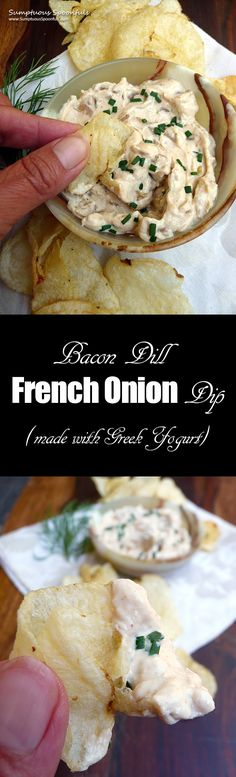 Bacon Dill French Onion Dip