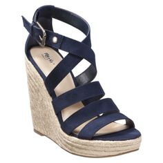 Women's Mossimo Black® Perri Wedge.