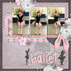 Ballet Camp - Scrapbook.com