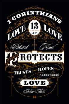 Mike Harpin. Fonts in Use. 1Corinthians 13:4