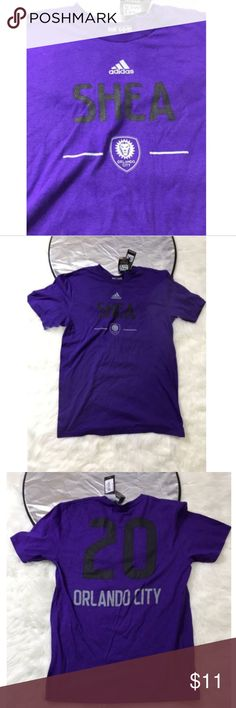Orlando City Soccer Club Adidas MLS #20 Medium Orlando City Soccer Club Adidas MLS #20 ORLANDO MENS SIZE Medium   Please see pictures for full details  ships fats and safe! adidas Shirts Tees - Short Sleeve