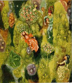 Tales of Hans Christian Andersen.Illustration by Statočný cínový vojačik