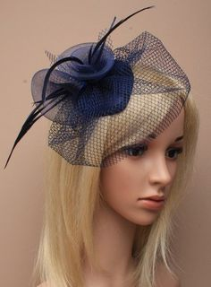 Allsorts® Navy Feather Net Clip Hat Fascinator Wedding La... https://www.amazon.co.uk/dp/B011LSNLP0/ref=cm_sw_r_pi_dp_fhdBxb7N96K1N