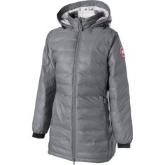 Canada Goose' Camp Hooded Down Jacket Women's, White, M