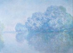 The Seine at Giverny, L'Ile aux Orties, Giverny - Claude Monet, 1897, Columbia Museum of Art, Columbia, SC  http://www.columbiamuseum.org/art/artwork.php?colID=35
