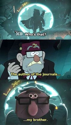 Hahah amazing world of gumball and gravity falls! Funny Memes, Hilarious, Funny Quotes, Cartoon Quotes, Jokes, Gravity Falls Crossover, Fall Memes, Continental, Cartoon Crossovers
