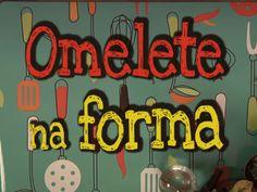 Aprenda a receita de um omelete de forma