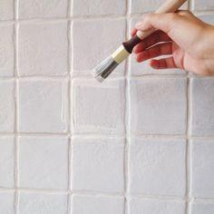 Går det att måla på kakel? | ELLE Bra Hacks, Budget, Ikea Hack, Chalk Paint, Dyi, Diy And Crafts, Kitchen Decor, Room Decor, Creative