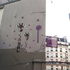 Paris - Latin Quarter - Giraffes