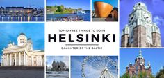 Top 10 Free Things To Do in Helsinki - Finland, Daughter of the Baltic Here are the top 10 FREE things to do in Helsinki, Finland — a captivating European city that is full of wonder and style. Finland Trip, Finland Travel, The Places Youll Go, Cool Places To Visit, Places To Travel, New Travel, Future Travel, Helsinki, Vacation Trips