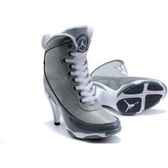 womens air jordan shoes grey