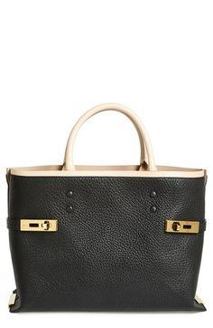 chloe leather tote