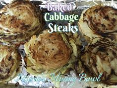 A quick and simple way to make cabbage. We love this with grilled steak or chicken.  Just a few ingredients and you have an amazing low carb side dish . Baking cabbage gives it so much more flavor than just boiling it. I think you will love this one . Baked Cabbage Steaks INGREDIENTS … Continue reading Baked Cabbage Steaks →